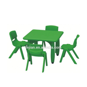 panic buying most popular modern Vintage children plastic table and chair
