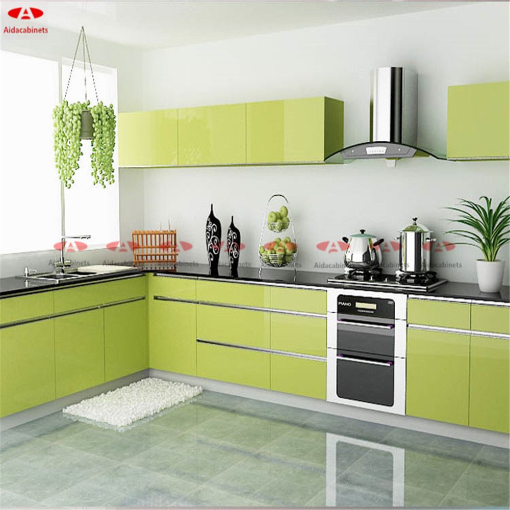 Stainless Steel Cabinets For Kitchen: Environment Friendly Modern Stainless Steel Kitchen