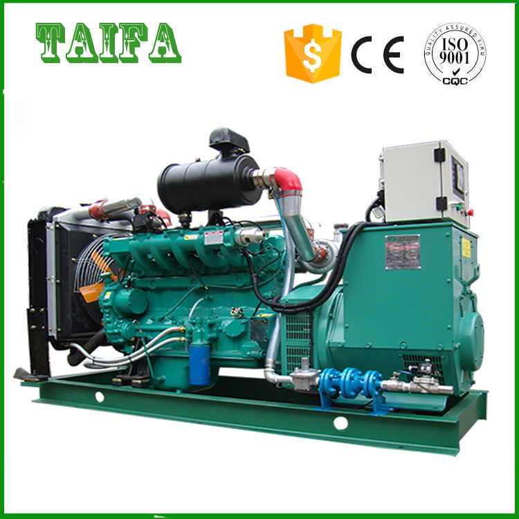 160kw three phase noiseless natural gas generator