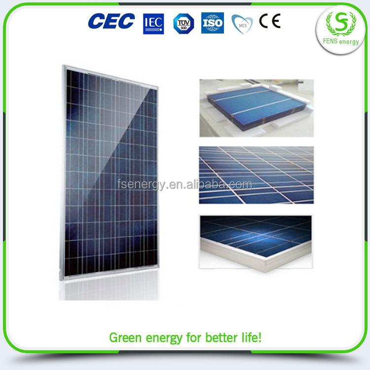 China manufacture new design solar panels plus 250w