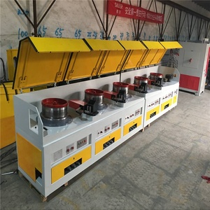 High Speed Automic Turn-key Carbon Steel Wire Dry Type Straight Line Wire Drawing Machine