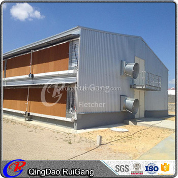 Low Cost Poultry Farm Pig Farm Poultry House Broiler Chicken Shed Layer  Chicken Shed Light Steel Structure - Buy Broiler Chicken Shed Steel
