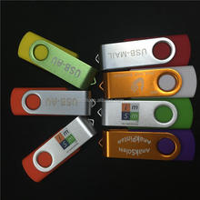 Gift usb flash drive swivel/ Promotional Cheap bulk 1gb usb flash drives custom swivel usb stick/usb pendrive