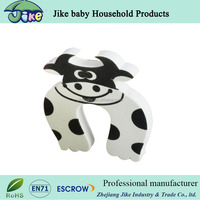 Amazon customized cute animial shape silicone rubber door stopper