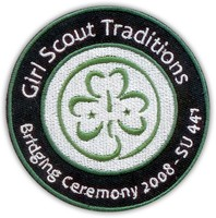 Wholesale Girl Scout Embroidery Patch