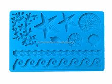 FD-005 cake decorating supplies silicone fondant mold for cake decoration