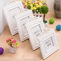 Wedding wood carving picture frames 3x3 3x5 4x6 5x7 custom