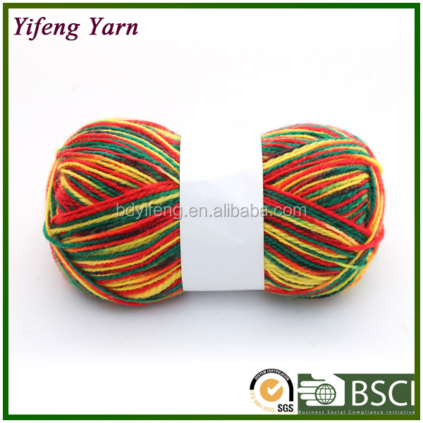 wholesale manufacturers supply roving new fancy wool yarn for knitting