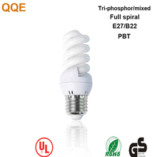 QQE 8W full spiral China energy saving lamps bulbs with high quality