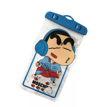 high quality custom mobilephone cartoon  underwater sealing strong touch screen PVC  bag