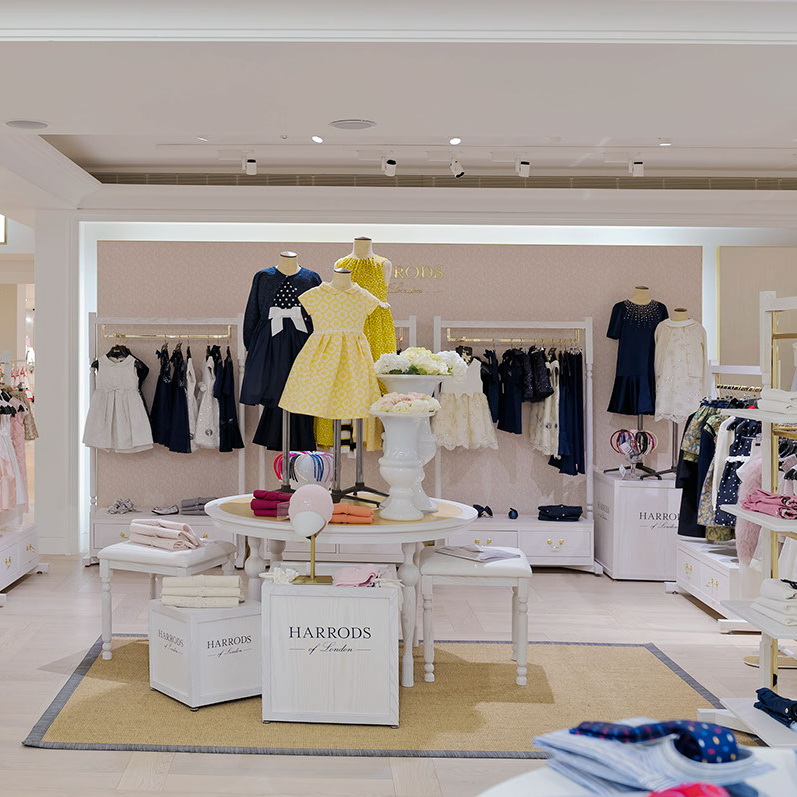 1b0ba36e4 Fashion Display Rack Baby Shop Design, Retail Children Clothing Store  Furniture
