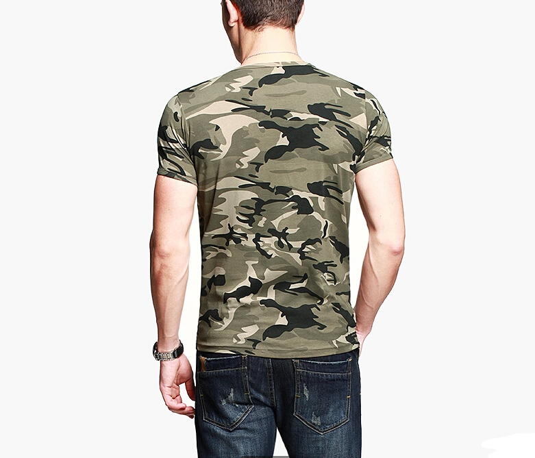 Sexy Army T Shirt 100 Cotton Camouflage Custom T Shirt Men
