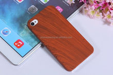 For iphone 4 4s hard plastic wood grain cell phone cases