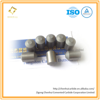 Flattop Hard Alloy Button/Metal Rock Using Round Top for Drilling Inserts/Mining