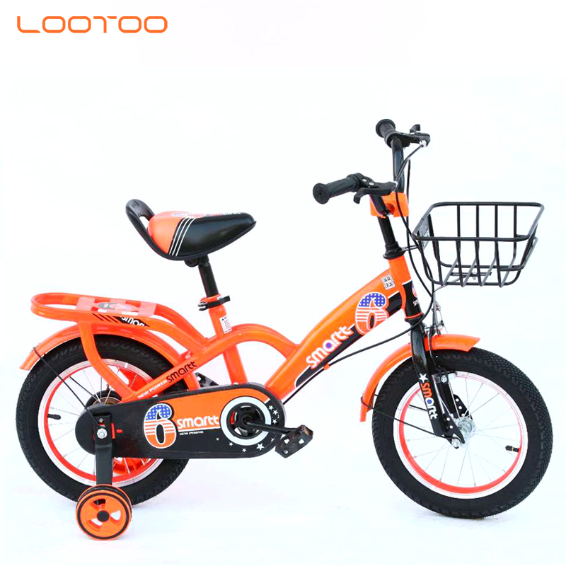 bicicletta hot sale training wheel steel frame bicycle bike children cycle for kids 2-10 years old
