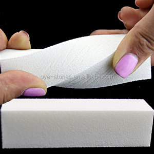 Factory direct sales excellent quality 4 sided nail buffer block,pink nail buffer for shiny