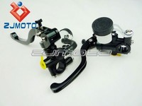 ZJ-B020 Motorcycle Forged Clutches & Brake Master Cylinder With Hydraulic Clutches & Brake And Adjustable Lever Left and Right