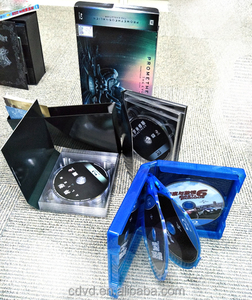 supply movie dvd and bul-ray kits mass produce and package services