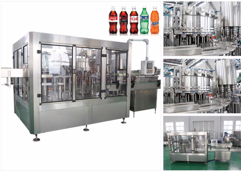 Factory production Automatic Carbonated Drink Filling Machine