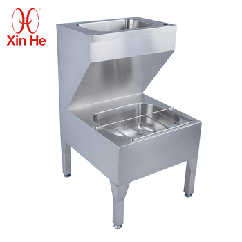 Custom made Stainless Steel Durable Hand Wash Basin Sink Stand