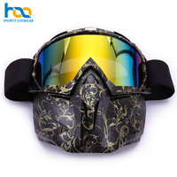 Fashionable Design Custom Logo Face Mask Ski Snow Goggles