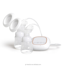 2017 new strong sunction BPA free USB rechargeable electric double breast pump
