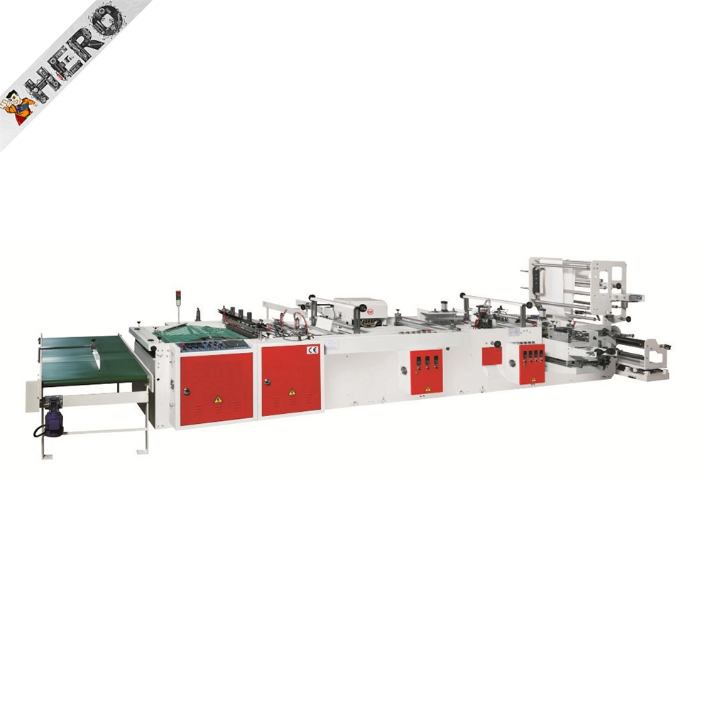 HERO BRAND T-shirt Making Used Tea Packing Plastic Sale Cutting Poly Sealing Gunny Filling Rice Paper Bag Manufacturing Machine