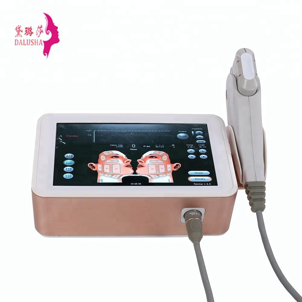 wrinkle removal face lifting 3D ultrasonic machine