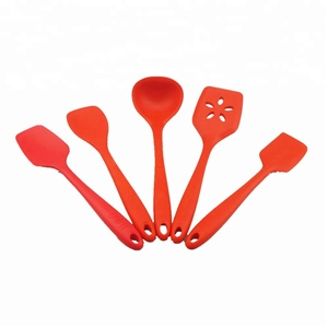 Promotional item Colorful Silicone Kitchen Utensil Set /Silicone kitchen tools