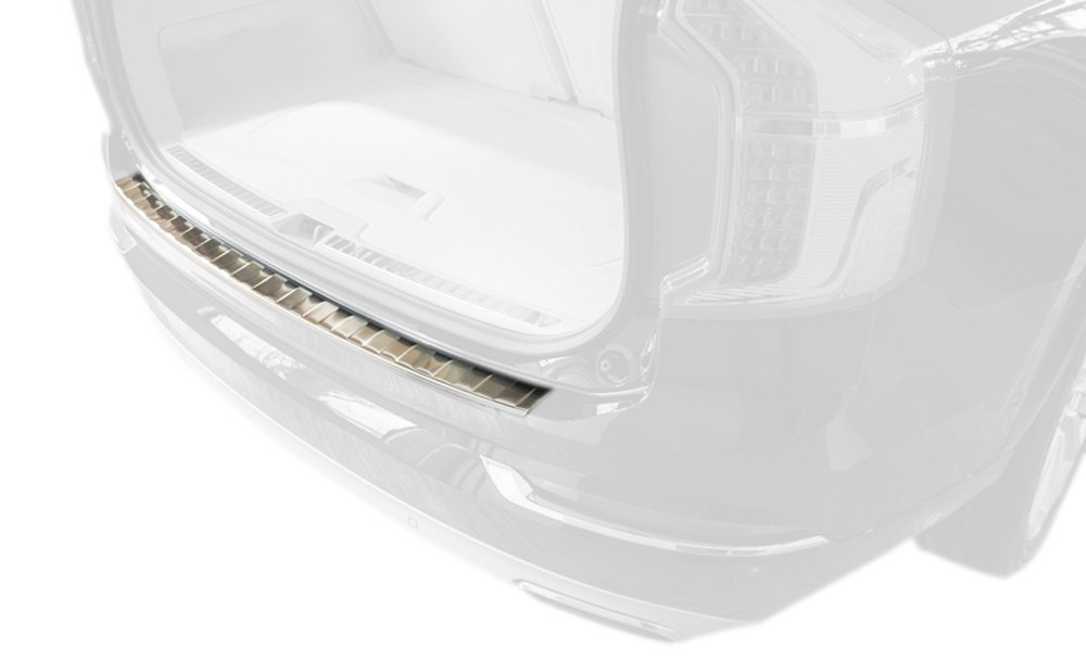 2008 - 2017 Audi Q5 - Stainless Steel Rear Bumper Protector Guard