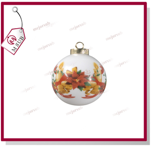 HOT sale!personalized 70mm sublimation ceramic ornament sublimation halloween gifts