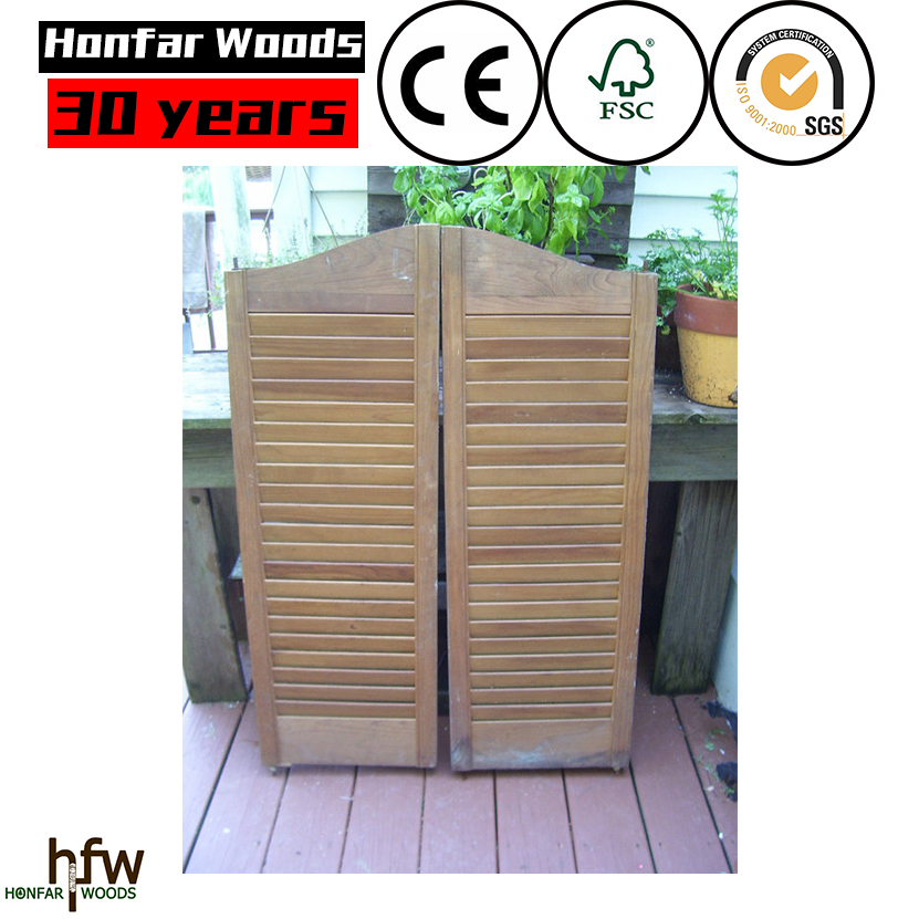 High quality wooden window shutters Lower price with FSC