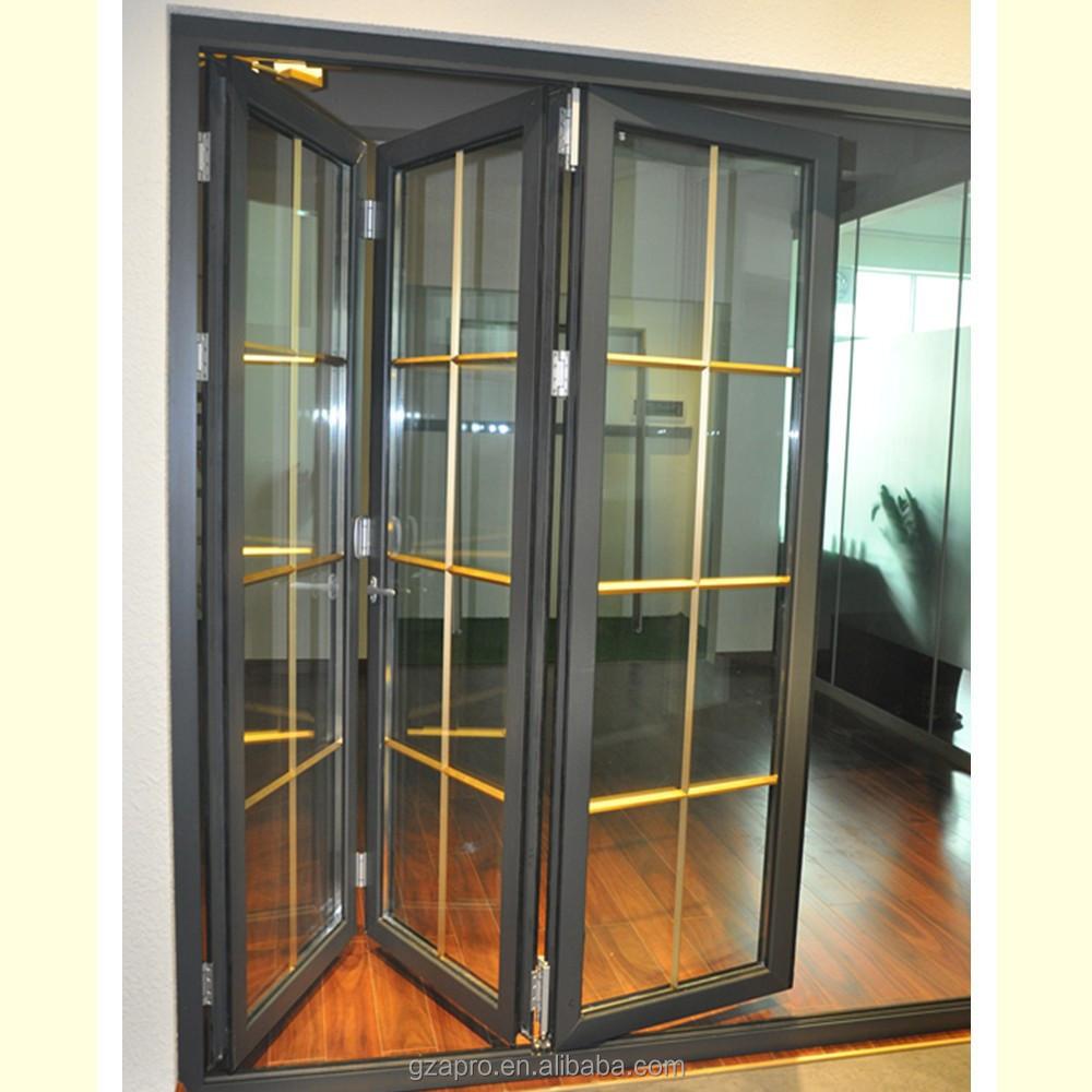 Puertas aluminio plegables jardn plegables bifolding for Fabricar puerta corredera
