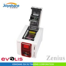 Evolis zenius id card printer single-sided Composite PVC card printer China version