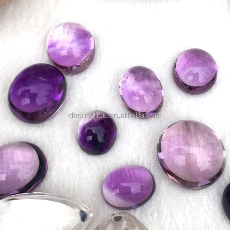 High Quality Facet Cut Natural Amethyst Stone Quartz Loose Gemstone For Jewelry