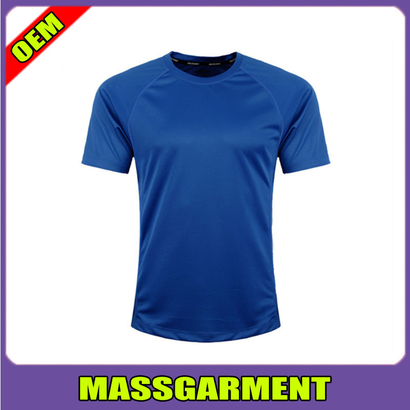 OEM high quality hanes t shirt 100% polyester cheap plain t shirt
