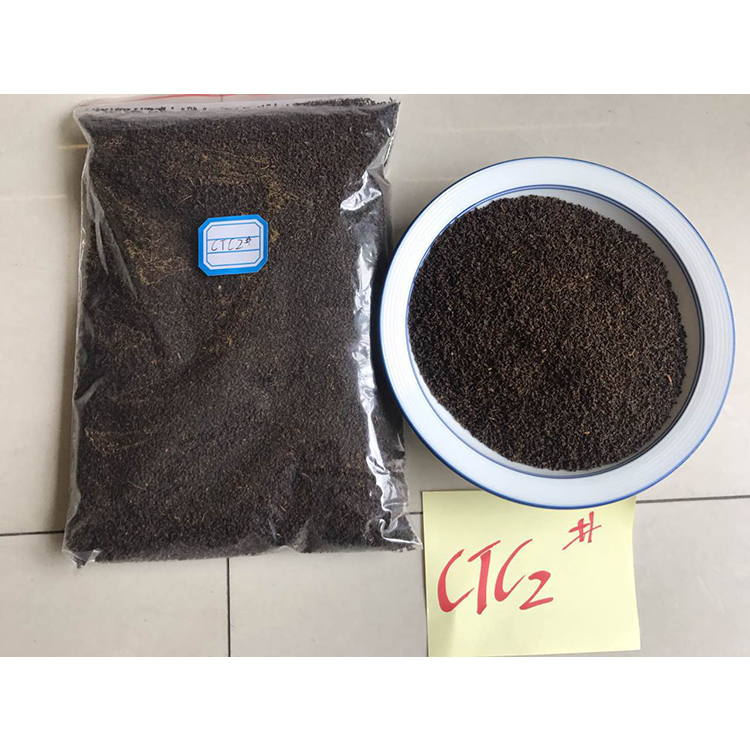 New effect slimming pure famous tea brands strict quality contorl China CTC Black Tea dust