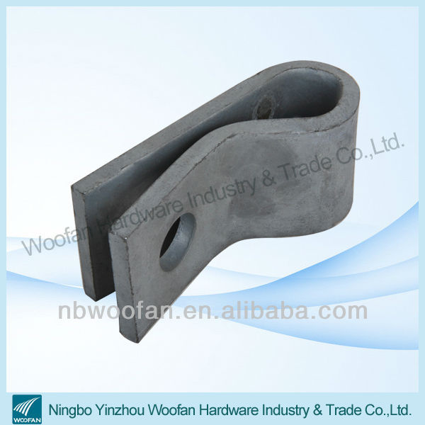 Clevis hanger electrical clevis pipe clamp