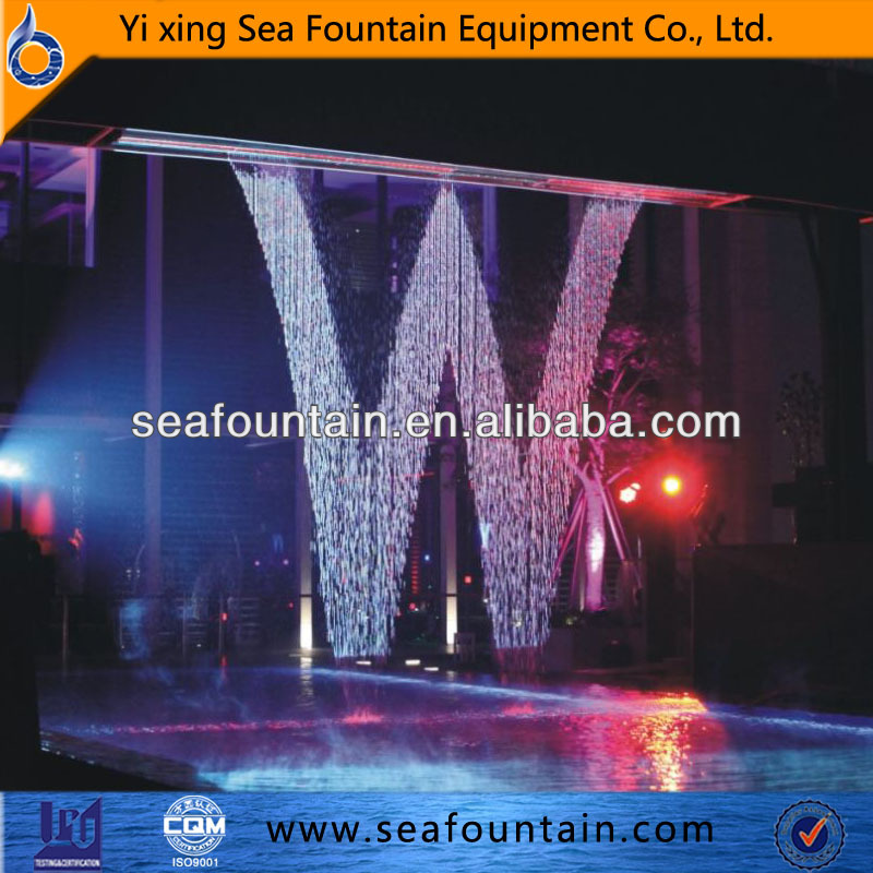 Digital Water Curtain Fountain Led Indoor Graphic Water Curtain ...