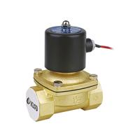 2W Under Water Solenoid valve /Gas Diesel Oil Normal Closed / 2W200-20 Direct Brass solenoid valve