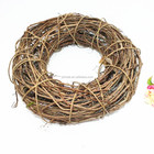 Round rattan flower wreath base
