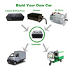 3KW Engine AC Electric Car Motor Kit for Electric Car