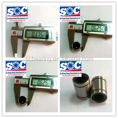 All kinds of LM LME LMB OP/AJ series linear motion ball bearing