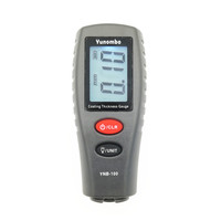 Yunombo YNB-100 English Russian Manual Digital Car Paint Thickness Meter Digital Thickness Tester Coating Thickness Gauge