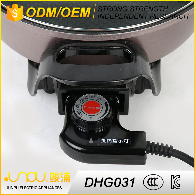 Best quality custom color home electric grill european hot pot for sale