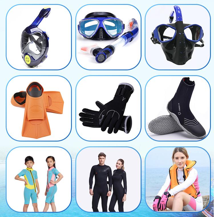 Customized  Waterproof Diving Footwear Neoprene Diving Boots