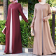 Wholesale Islamic Clothing 2017 New Arrival OEM Custom Muslim Abaya&Dress