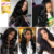 Xibolai top grade Body Wave Human Hair Full Lace Wigs, Pre Plucked Natural Hairline With Baby Hair,100% handmade deep part wigs