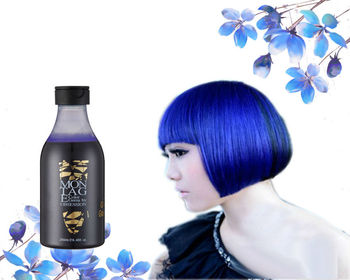 Brilliant !!! Obsession blue hair dye no ammonia no peroxide hair color