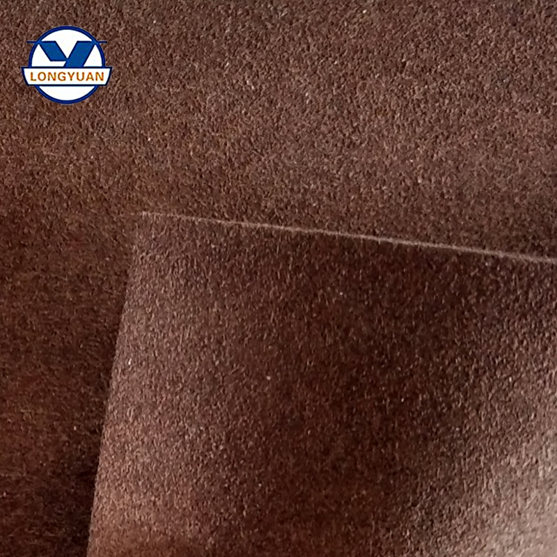Suede microfiber leather for make shoes